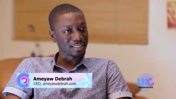 """""""My leadership style is very relaxed…I give my staff the room to express themselves"""" Ameyaw Debrah speaks with Mr. FAB on Under 40 CEOs"""