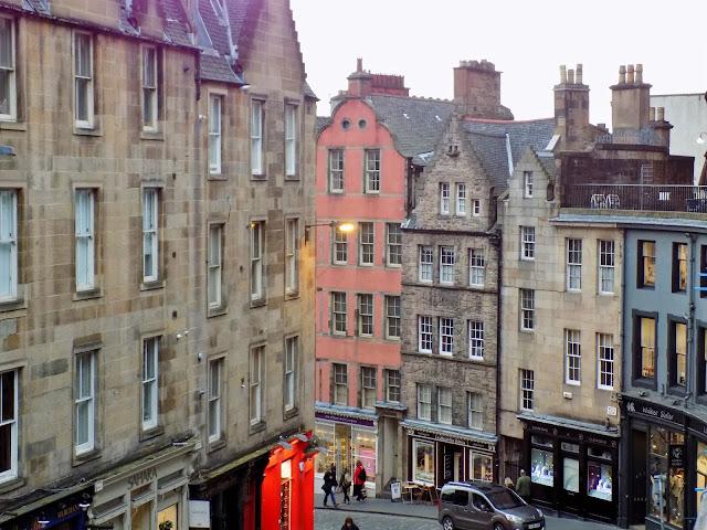 Edinburgh city centre street