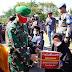 Peringati HUT Bhayangkara Ke-74, Kasrem 032/Wbr Bersama Wagub dan Forkopimda Sumbar Dampingi Kapolda Melepas Tim Baksos TNI-Polri