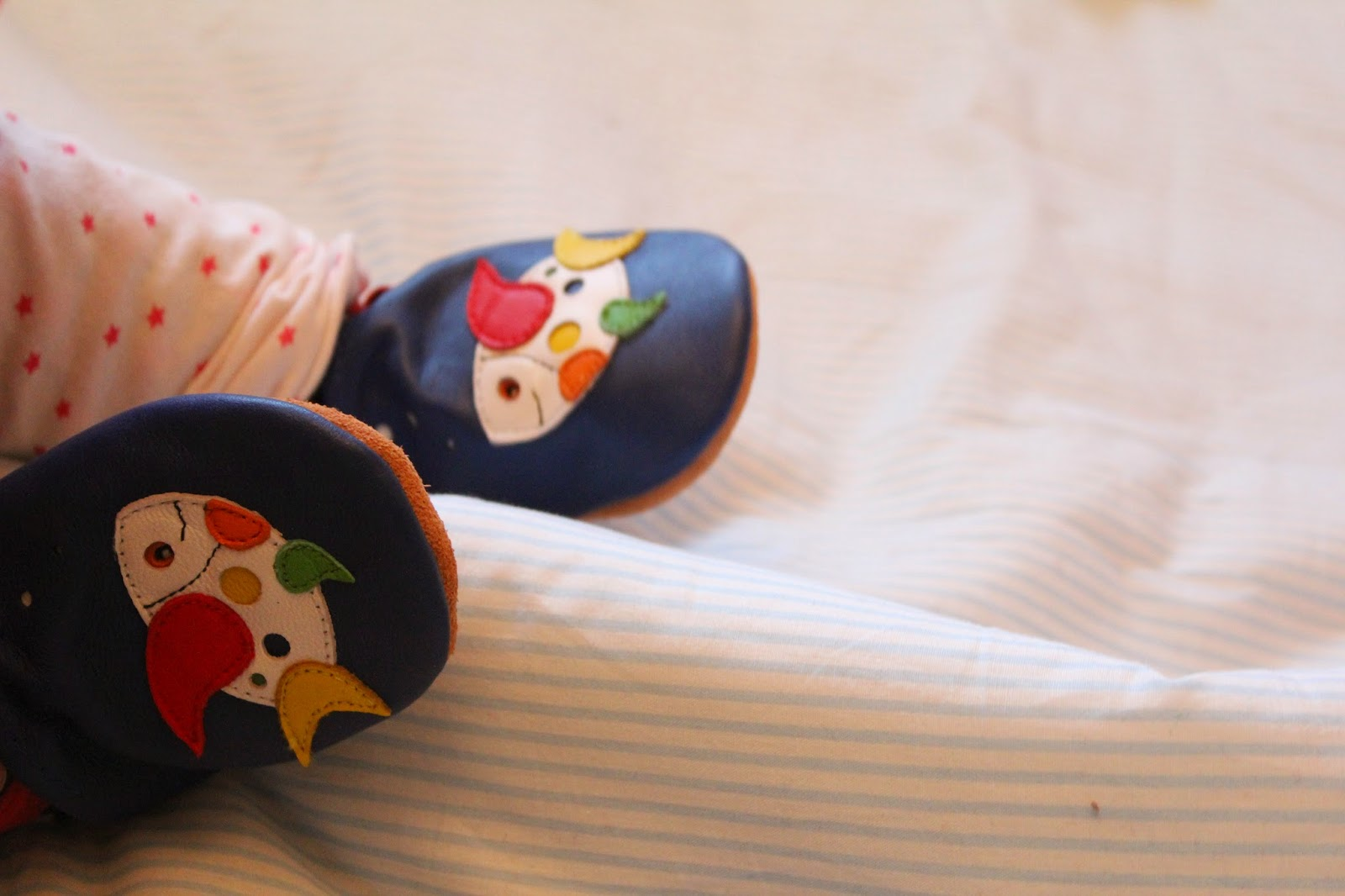 051ff57ed Poppies and Ice-cream: Dotty Fish leather baby-shoes (and discount!)
