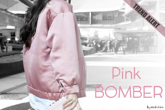 Trend Alert Pink Bomber