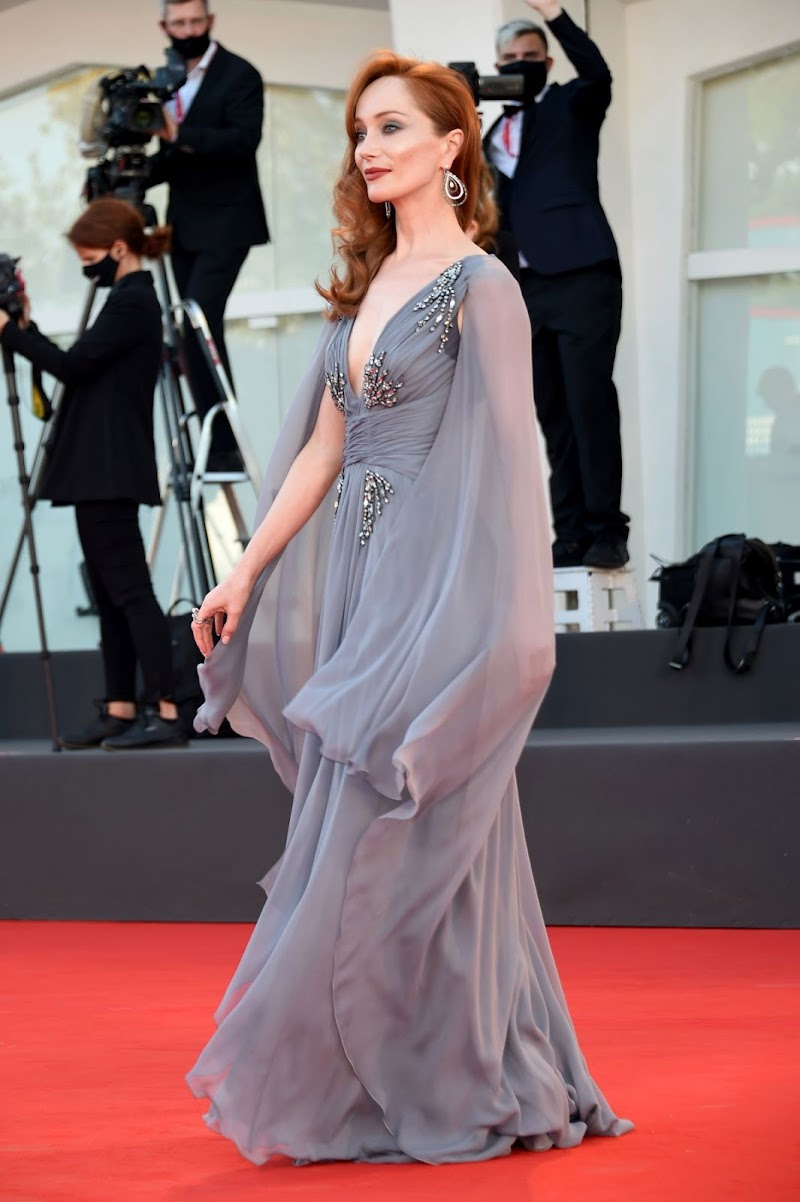 Lotte Verbeek Clicks at 77th Venice Film Festival Opening Ceremony 2 Sep -2020