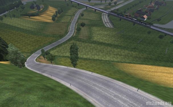 Zorlu Yokus v2 map for ETS 2