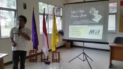 MOI Beri Pelatihan Jurnalistik pada Gerakan Pramuka Saka Bhayangkara