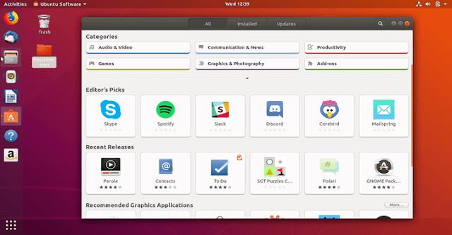Ubuntu Software Center Terbaru