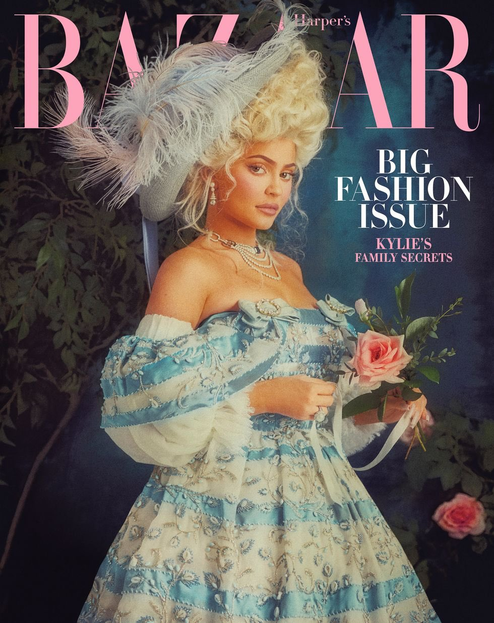 Kylie Jenner Is Marie Antoinette Meets Malibu Barbie for Harper's Bazaar March 2020