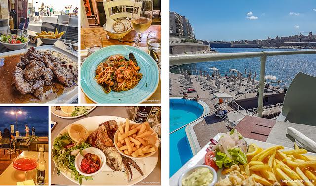 Pratos típicos de Malta