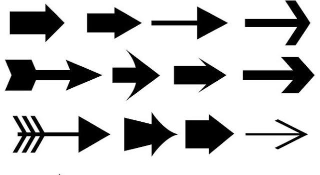 Cara Membuat Simbol Panah atau Garis Panah di Photoshop