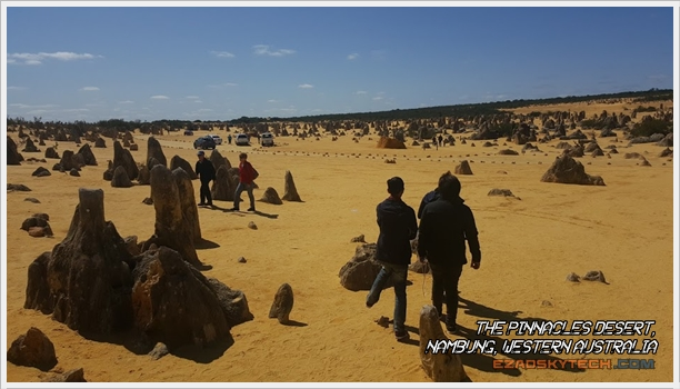The Pinnacles Desert, Nambung WA