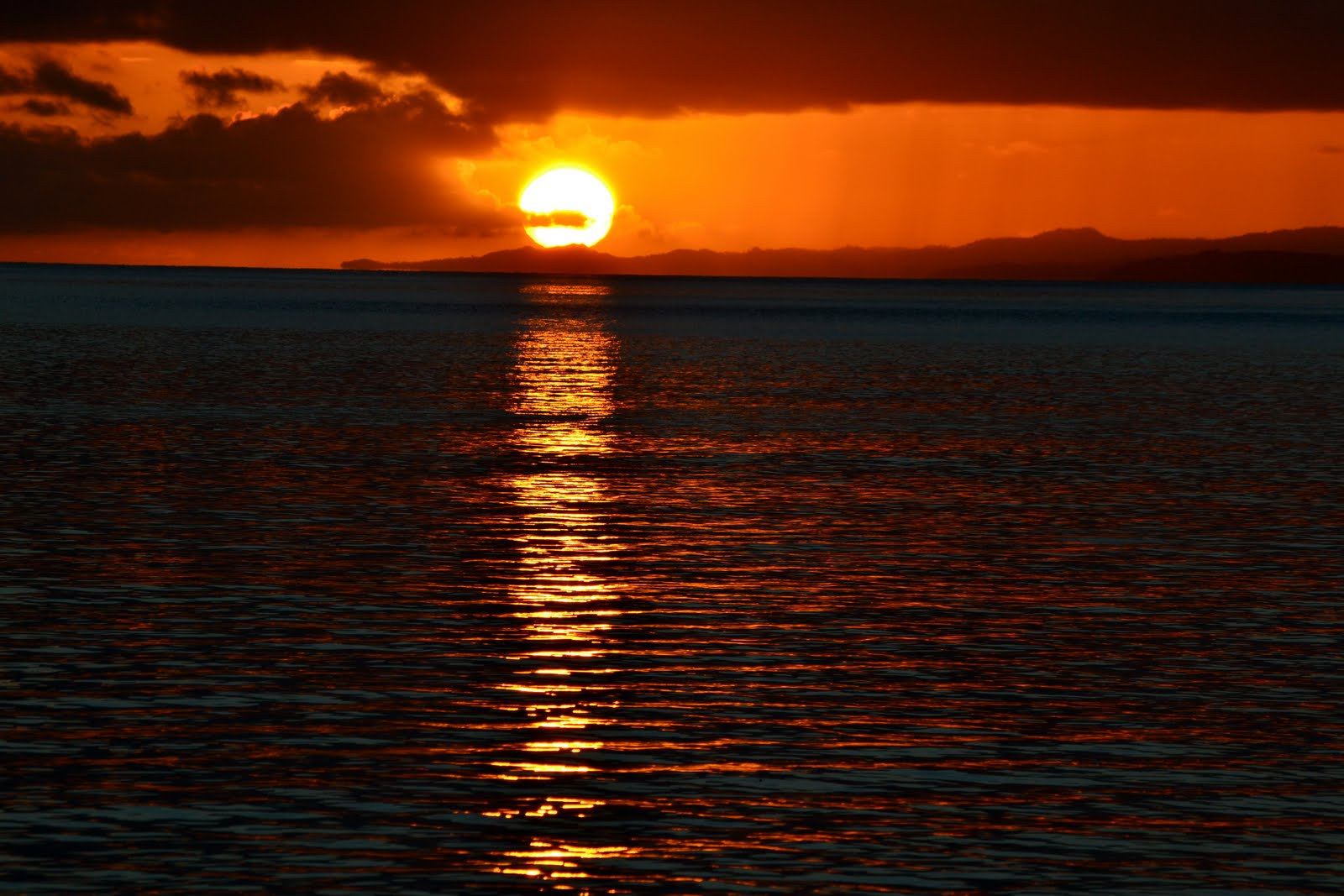 The Fiji Life Fijian Sunsets
