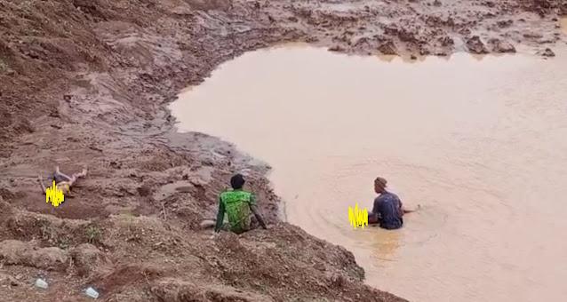 2 Pelajar SD Pemalang Ditemukan Tewas Tenggelam  di Galian C