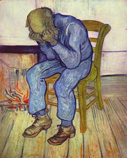 Velho Triste (No Portão da Eternidade), 1890