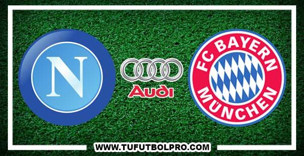 Ver Napoli vs Bayern Munich EN VIVO Por Internet Hoy 2 de Agosto 2017