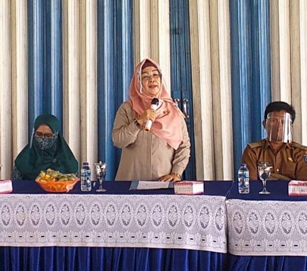 DPMD OKI Gelar Pembinaan Aparatur Desa dan Kelembagaan Desa Di Pangkalan Lampam