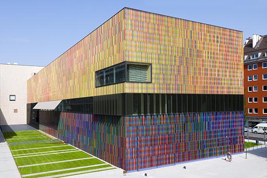 berbagi model fasade unik bangunan