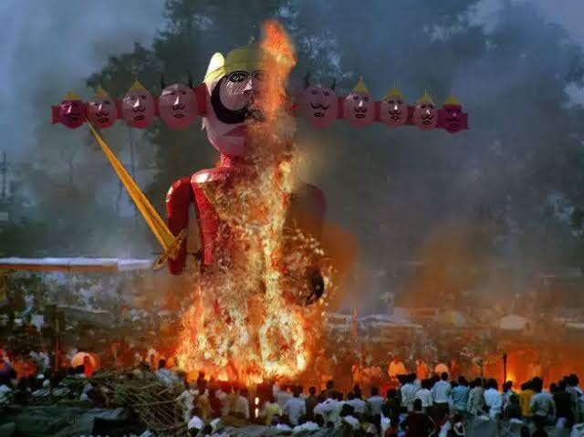 Ravana Dahan: Not thousands of years. The practice is only 67 years old.