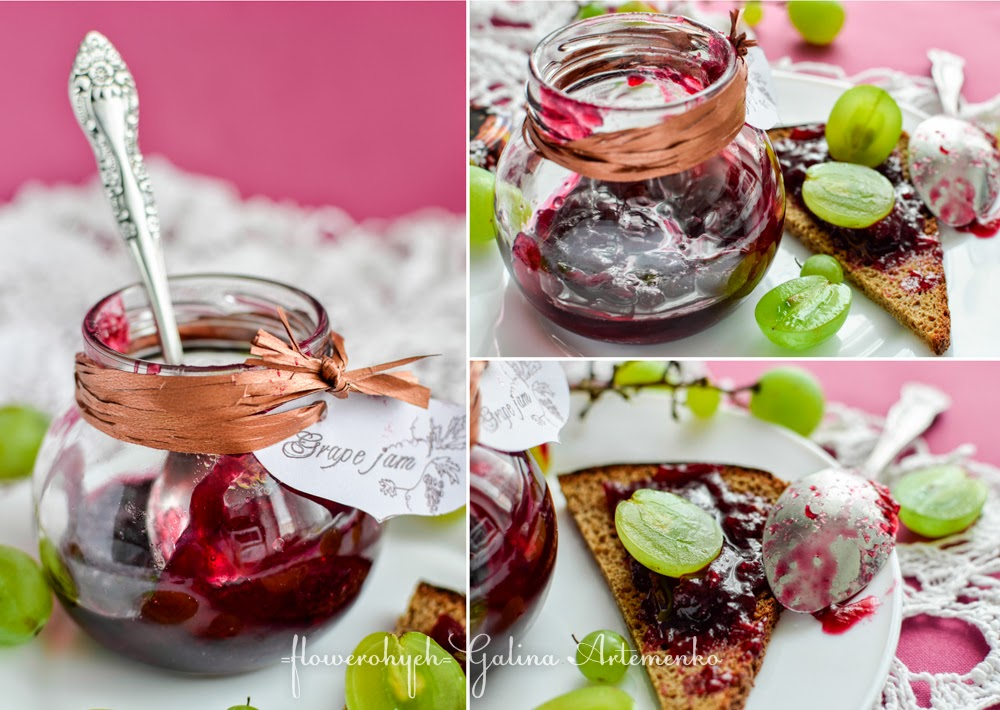 Grape jam recipe