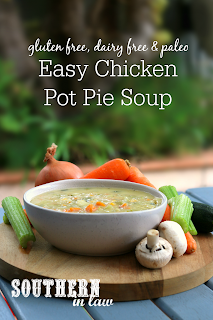 Healthy Chicken Pot Pie Soup Recipe