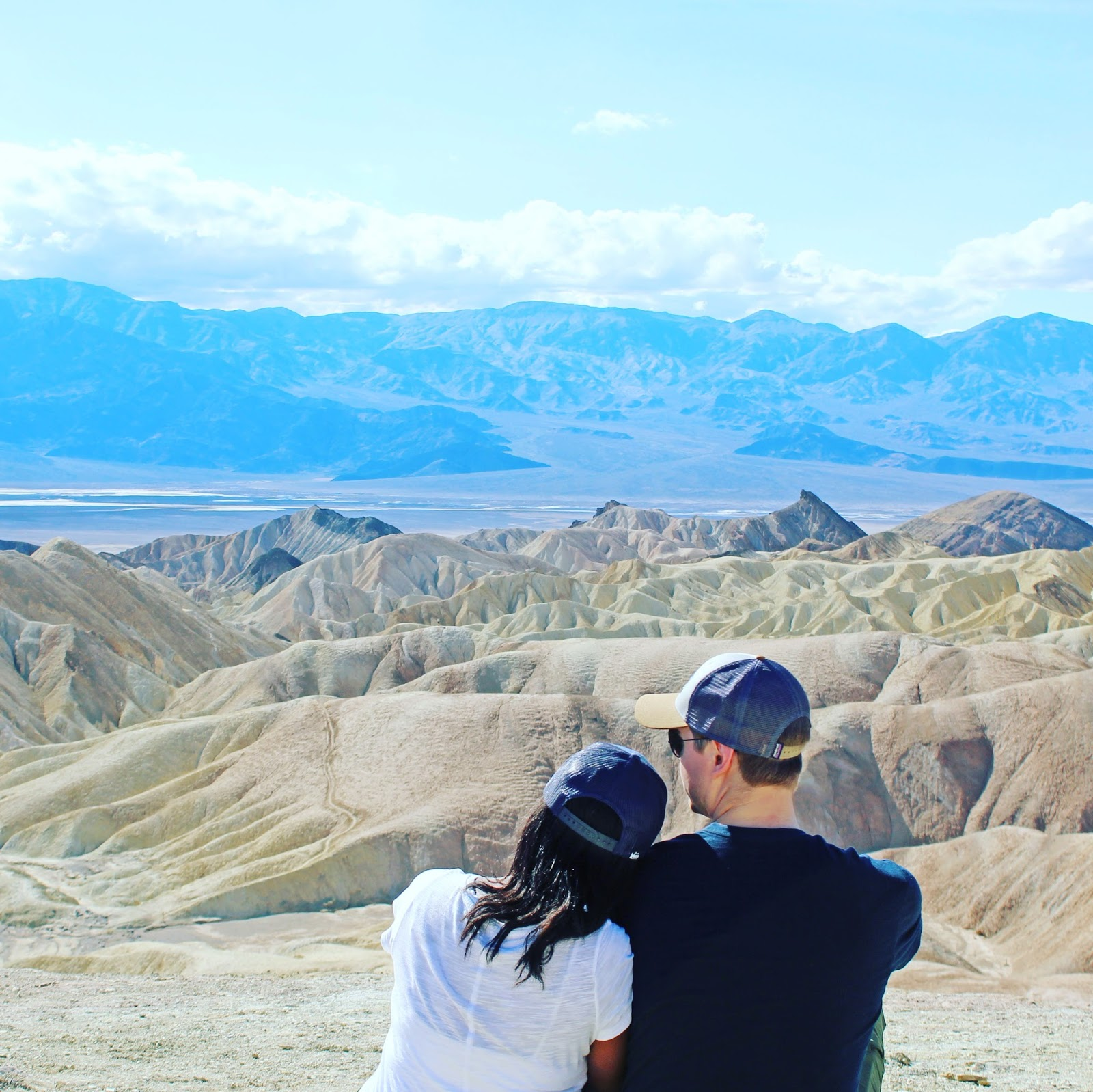 Death Valley national park in a day