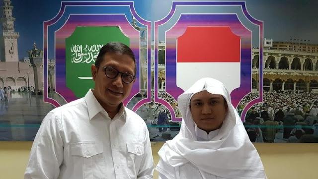Bertemu Menag, 'Asal Yanto Cerita Jadi Imam Masjid di Mekkah