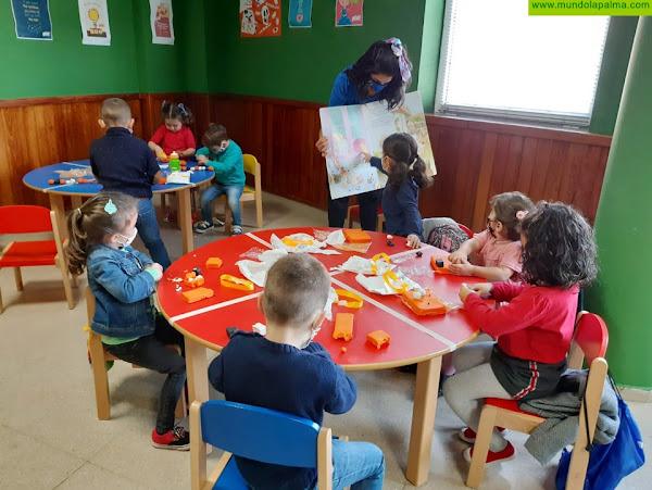 Fuencaliente imparte talleres gratuitos de inglés para menores de entre tres y cinco años