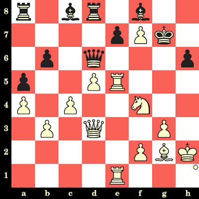 Les Blancs jouent et matent en 4 coups - Julia Kochetkova vs Biljana Dekic, Khanty Mansyisk, 2010