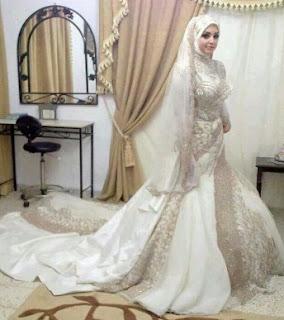 Kebaya Untuk Nikah Berhijab Model Terindah Dan Termewah