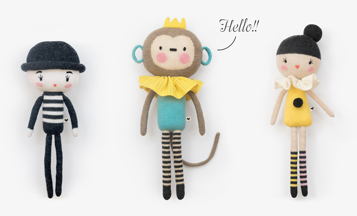 Handmade knitted toys - Lauvely