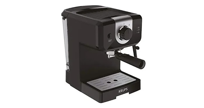 Krups xp3208 espresso and cappuccino coffee maker review