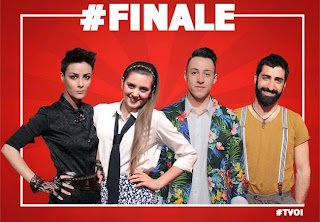 The Voice of Italy 3 - Roberta Carrese, Carola Campagna, Thomas Cheval e Fabio Curto Finalisti