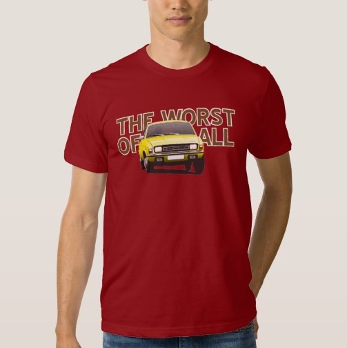 Austin Allegro - the worst of all t-shirt