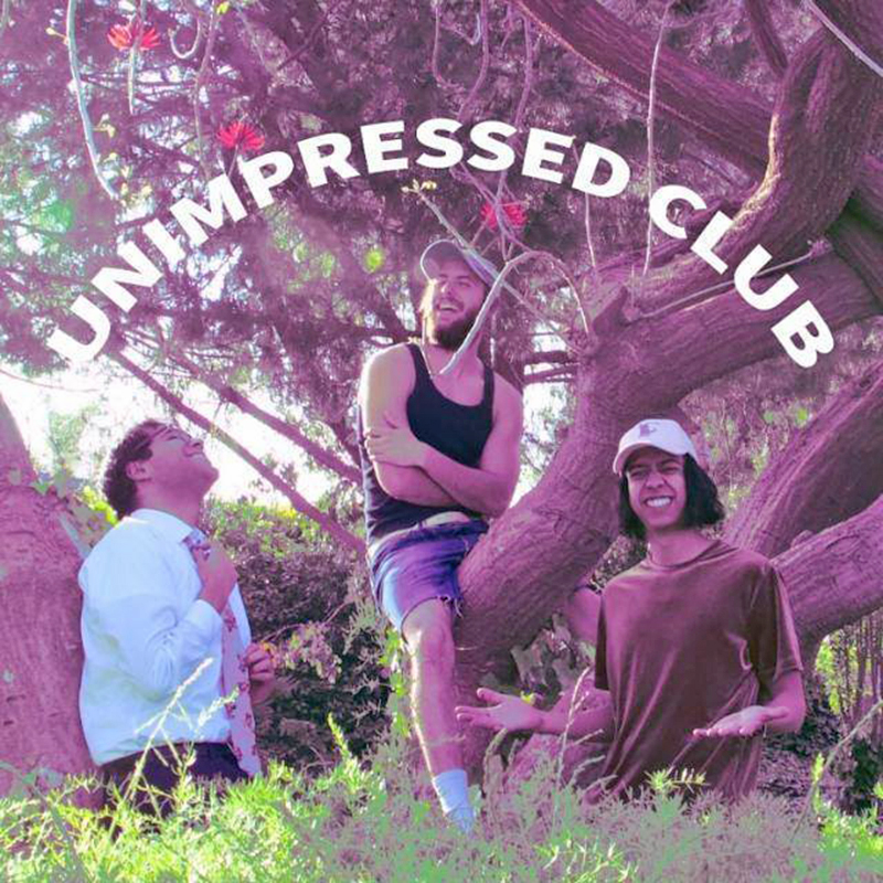 """Unimpressed Club sparkle, shine and light it up on the chill hip hop, jazz rock """"Busboy"""""""