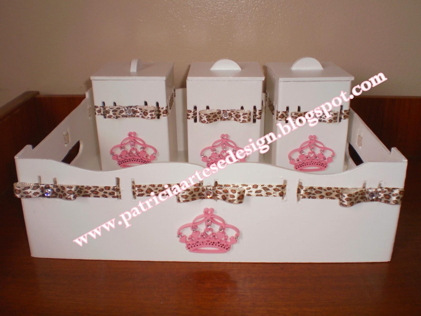 Patricia Artes e Design Kit Bebê Princesa, Kit tema Princesa, Kit passa fi