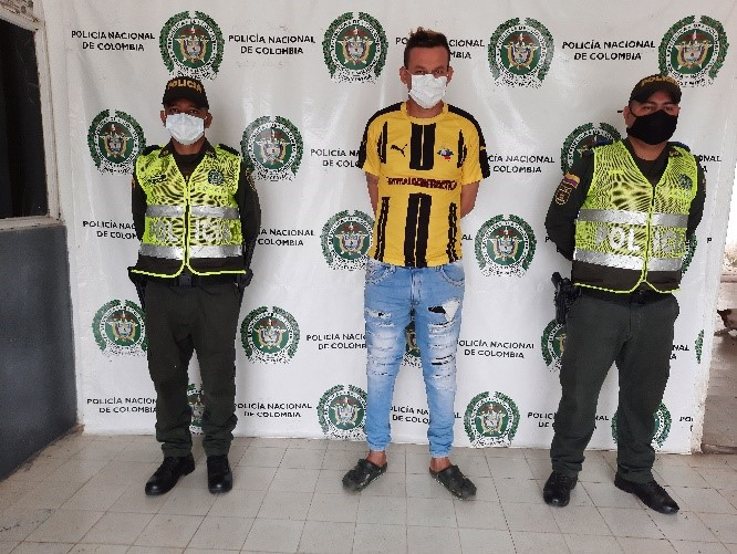 https://www.notasrosas.com/Detenido en Codazzi, - Cesar, por Tráfico de Estupefacientes