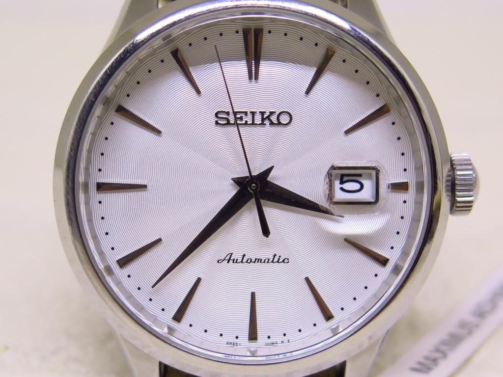 SEIKO PRESAGE WHITE TEXTURE DIAL BIG SIZE 42mm - AUTOMATIC 4R35B - JDM