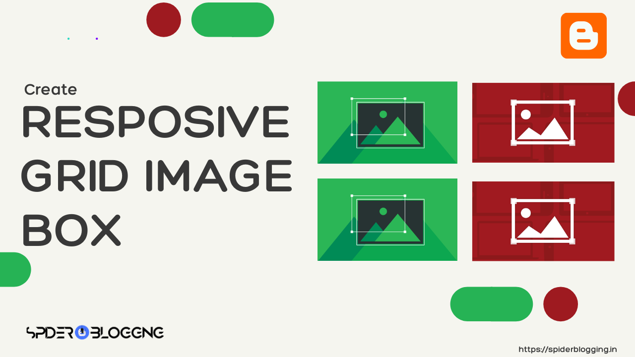 How to Create Responsive Grid Image Box in Blogger