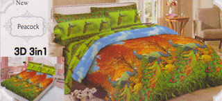 Sprei Lady Rose Peacock