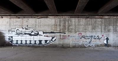 Γκράφιτι του Ganzeer