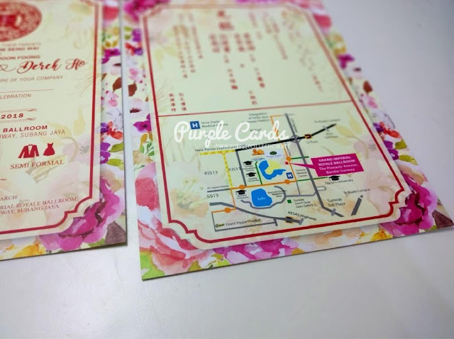 modern, elegant, bespoke wedding invitation cards, save the date, party, tie the knot, grand ballroom, hotel, grand imperial royale ballroom, the pinnacle, annex, selangor, petaling jaya, decoration, decor, vendor, supplier, cocktail , semi formal, dress code, printer, unique, designer, custom made, personalized, personalised, double happiness logo, setup, floral, burgundy, pink, pastel, purple, magenta, maroon, red, icon, timeline, schedule, rsvp, cetak, tamil, hindu, christian, malay, kad kahwin, chindian, map drawing, stylish, chic