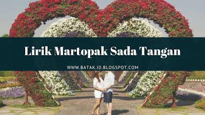 Lirik Martopak Sada Tangan - Trio Elexis