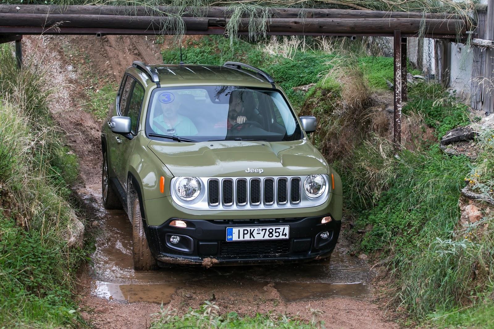 KF 1545 Πετάμε ένα Jeep Renegade σε λάσπες, πέτρες, άμμο, λίμνες. Θα τα καταφέρει;
