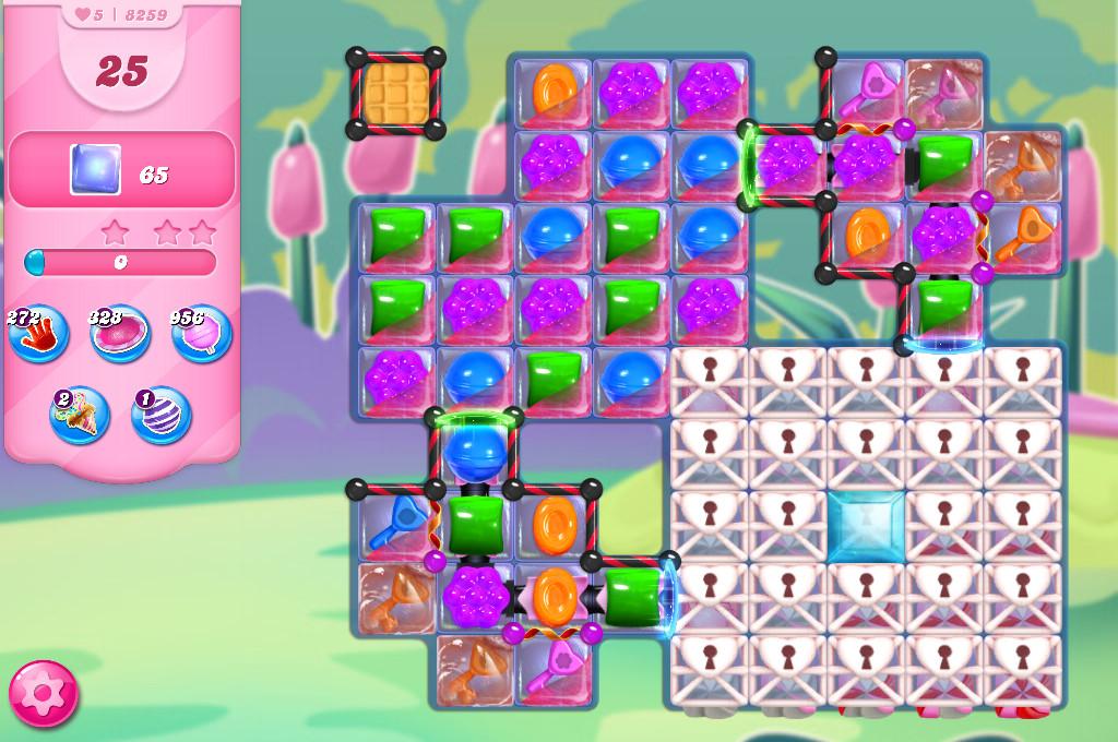 Candy Crush Saga level 8259
