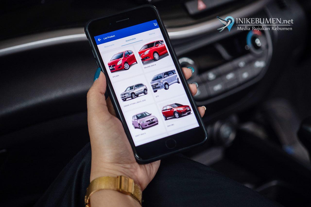 Kini Beli Suku Cadang Mobil, Suzuki Semakin Mudah di Aplikasi My Suzuki