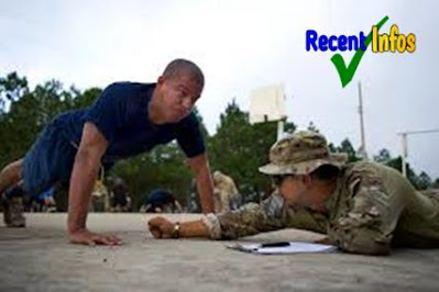 Push-ups : For army , Gernal fitness , army push ups