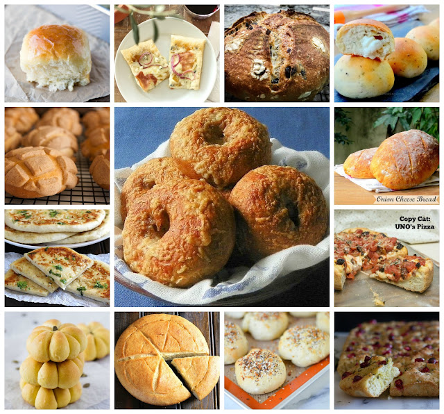 The Bread Box Round Up, a monthly collection of wonderful loaves, rolls, and flatbreads from food bloggers who bake bread!