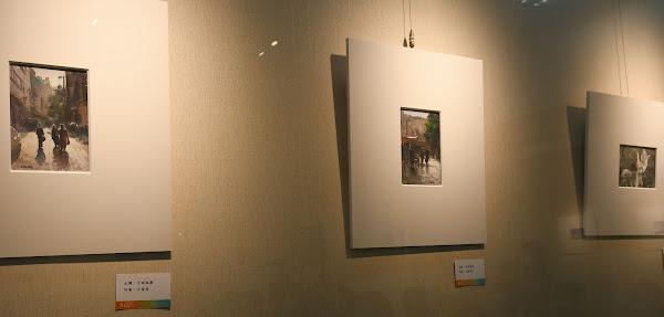水彩8432聯展 彰化市立圖書館展出