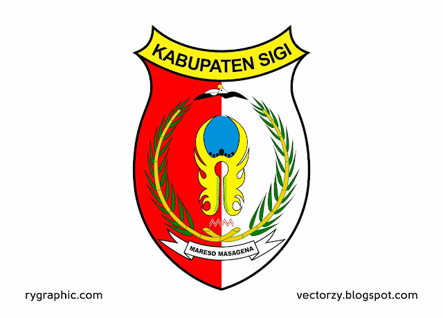 Logo Kabupaten Sigi, Sulteng Vektor .Ai .Cdr & .Eps