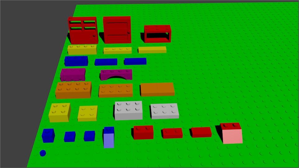 El blog tecnológico de Blag.: Blender Arte en Lego para el ...