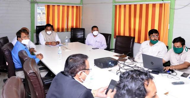 """""""कोरोना चाचणी वाढवा"""";आरोग्य राज्यमंत्री राजेंद्र पाटील"""