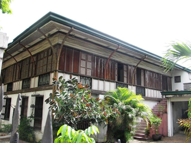 The Residence of Pres. Jose P. Laurel in Paco